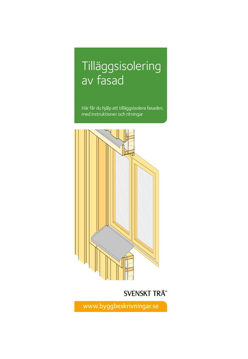 Tilläggsisolering av fasad